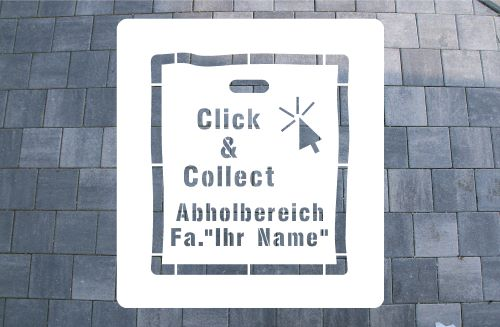 Click & Collect Bodenmarkierung