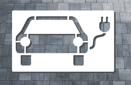 E-Auto Ladestation Symbol