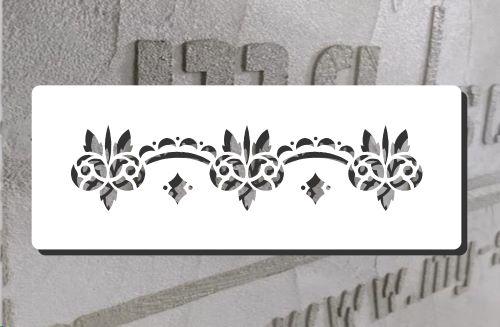 Ornamentschablone Merida