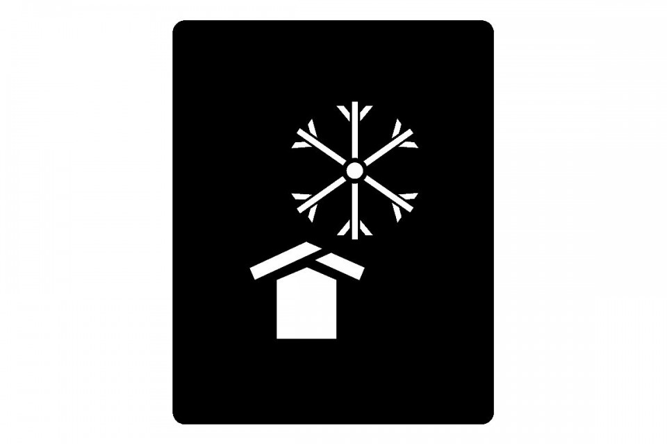 Verpackungssymbol - VOR KÄLTE SCHÜTZEN